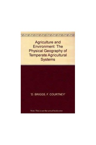 Agriculture and Environment By D. Briggs