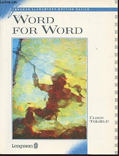 Word for Word By Chris Tribble