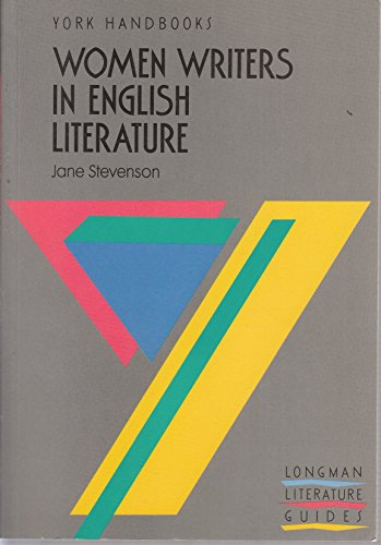 Women Writers in English Literature By Jane Stevenson