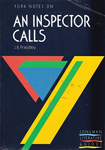 """York Notes on J.B.Priestley's """"Inspector Calls"""" By Katie Gray"""