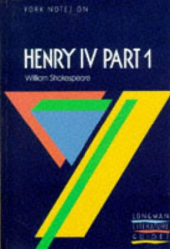 Henry Iv Part 1 By A. Norman Jeffares