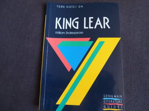 King Lear By W. Shakespeare