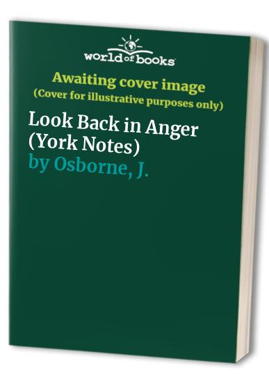 Look Back in Anger By Edited by G. Giffiths