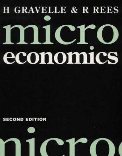 Microeconomics By H.S.E. Gravelle
