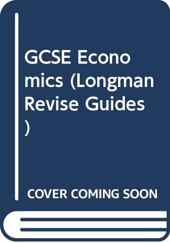 GCSE Economics By Barry Harrison