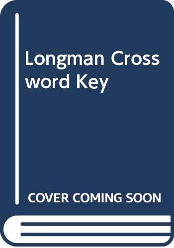 Longman Crossword Key By Edited by R.J. Edwards
