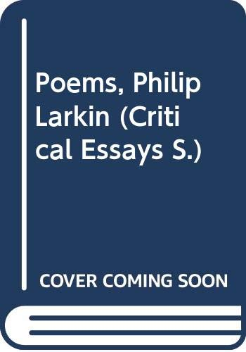 Poems, Philip Larkin By Edited by Linda Cookson