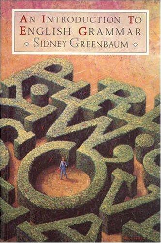 An Introduction To English Grammar By Sidney Greenbaum