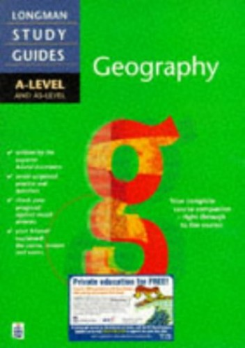 Longman A-level Study Guide: Geography By David Burtenshaw