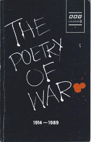 The Poetry of War, 1914-89 By Edited by Simon Fuller