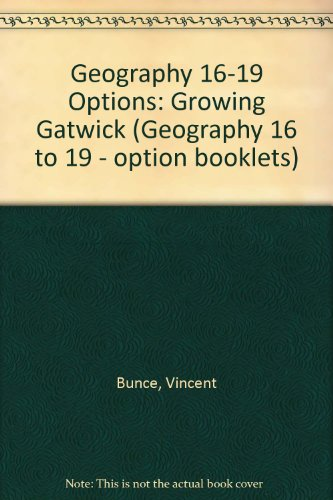 Geography 16-19 Options By Vincent Bunce