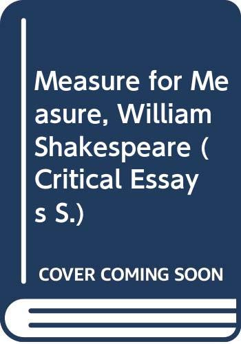 """""""Measure for Measure"""", William Shakespeare By Linda Cookson"""