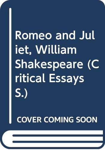 """""""Romeo and Juliet"""", William Shakespeare By Edited by Linda Cookson"""