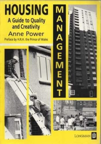 Housing Management By Anne Power