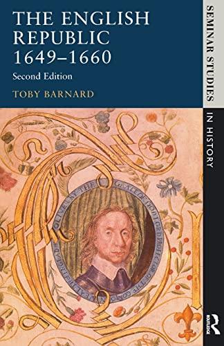 The English Republic 1649-1660 By Tony Barnard
