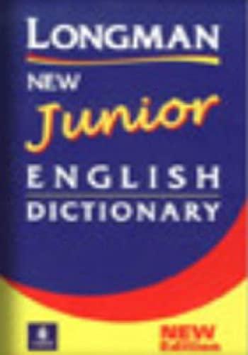 Longman New Junior English Dictionary 2nd. Edition By Anonim