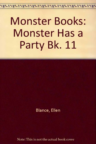 Monster Books By Ellen Blance