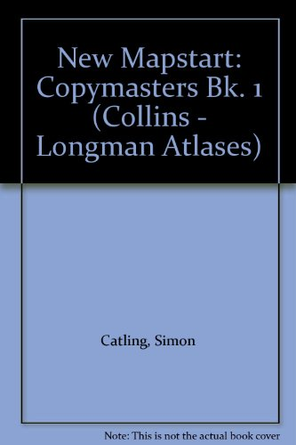 Mapstart 1 Copymasters New Edition By Simon Catling