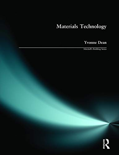 Materials Technology By Yvonne Dean