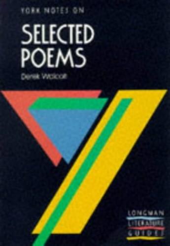 Derek Walcott By Derek Walcott