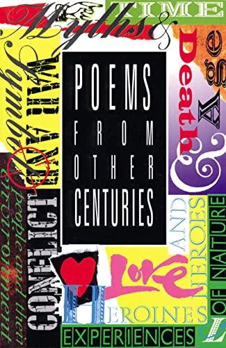 Poems from Other Centuries By Adrian Tissier