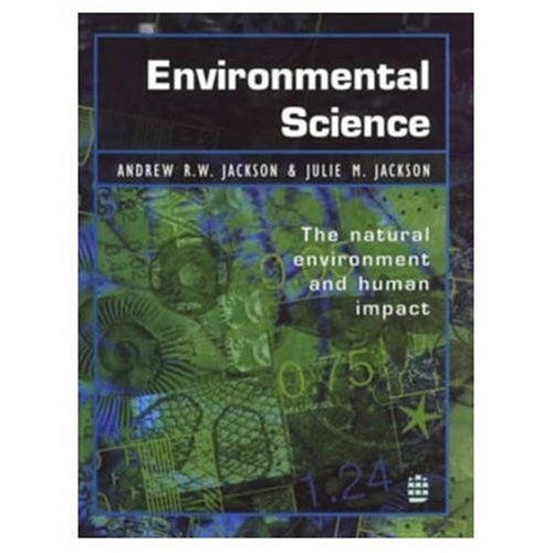 Environmental Science By Andrew R. W. Jackson