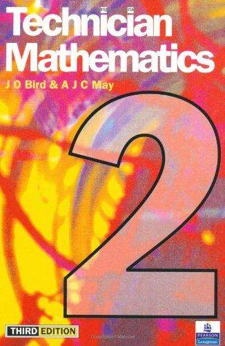Technician Mathematics 2: Level 2 By John O. Bird