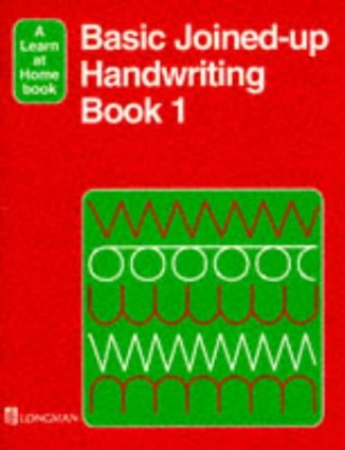 Basic Joined-Up Handwriting 1 By E. Adams