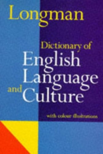 Longman Dictionary of English Language and Culture By Addison Wesley Longman