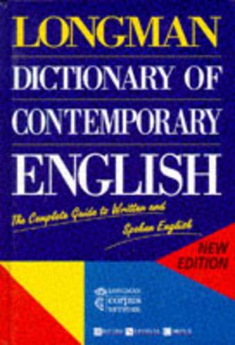Longman Dictionary of Contemporary English By A C Kermode