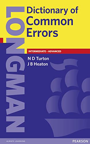 Longman Dictionary of Common Errors New Edition By J B Heaton