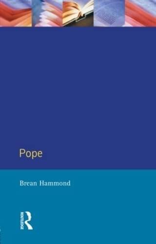 Pope By Brean S. Hammond