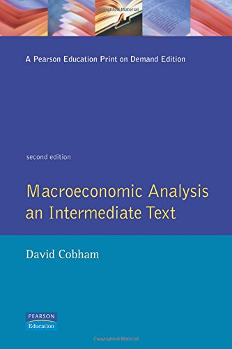 Macroeconomic Analysis By David Cobham