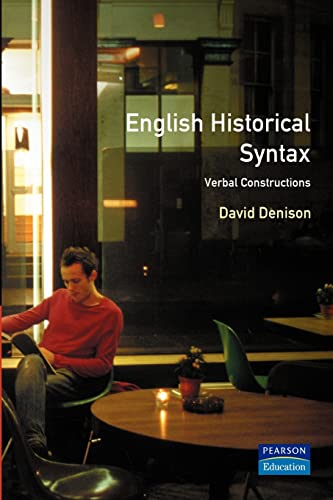 English Historical Syntax By David Denison