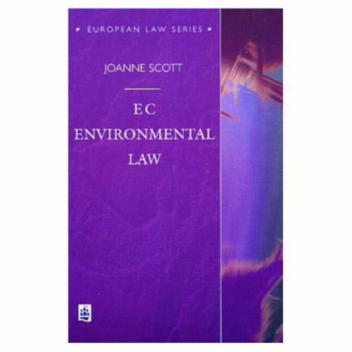 EC Environmental Law By Joanne Scott