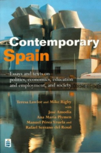 Contemporary Spain By Edited by Teresa Lawlor