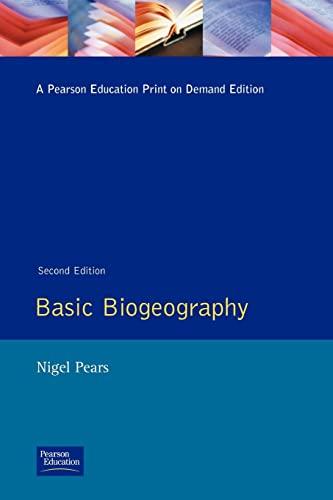 Basic Biogeography By N. V. Pears