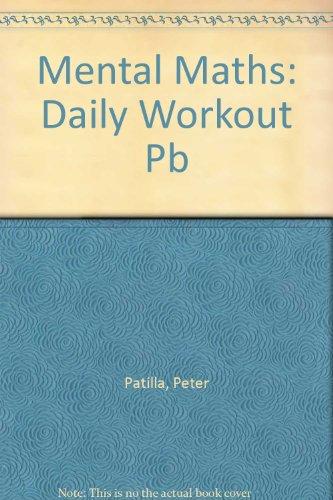 Mental Maths Daily Workout Year 5 Mental Maths 4 By Peter Patilla