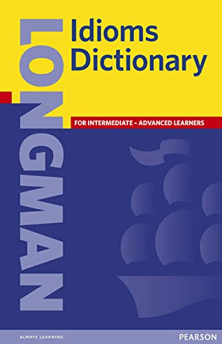 Longman Idioms Dictionary Paper By Longman