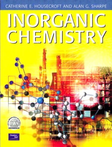 Inorganic Chemistry By Alan G. Sharpe