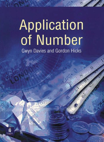 Application of Number By Gwyn Davies
