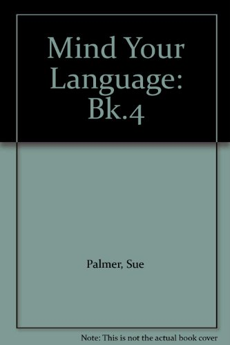 Mind Your Language Book 4 New Edition Paper By Sue Palmer