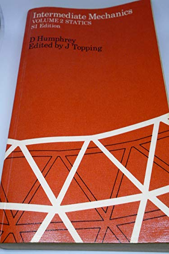 Intermediate Mechanics By Douglas Humphrey