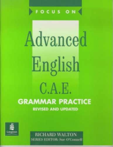 Focus on Advanced English Grammar Practice Pull Out Key New Edition By Richard Walton