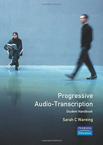 Progressive Audio Typing By Sarah Wareing