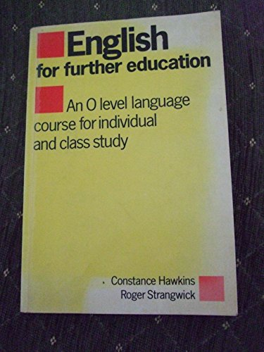 English for Further Education By C. Hawkins