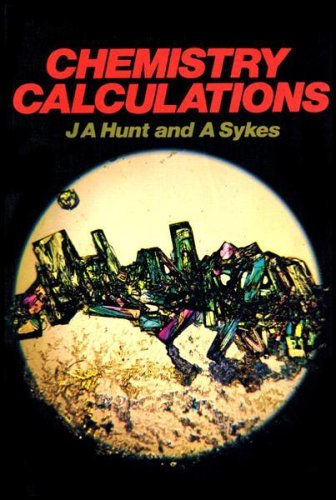Chemistry Calculations Paper By James Andrew Hunt
