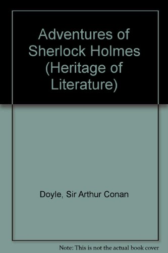 Adventures of Sherlock Holmes By Sir Arthur Conan Doyle