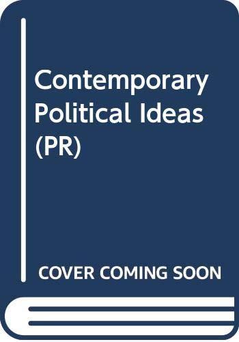 Contemporary Political Ideas By Derek Heater
