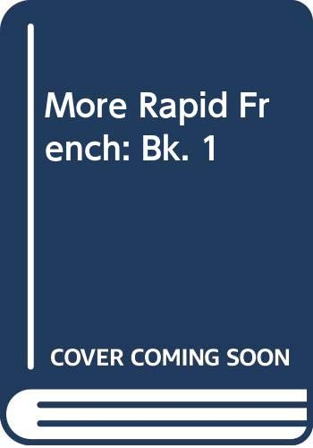 More Rapid French By W.F.H. Whitmarsh